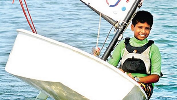 This 12 Year Old Boy Is The Youngest Sailor from India At The Asian Games