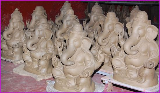 clay ganesha 2