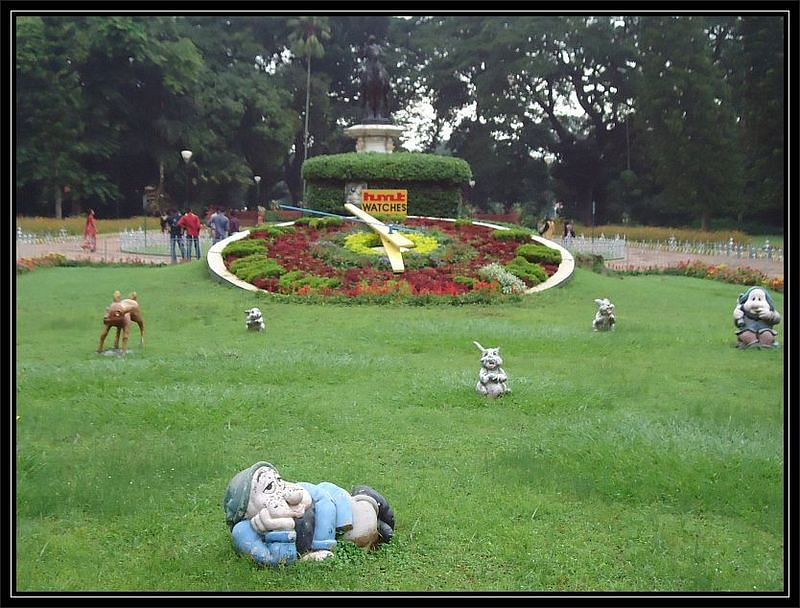 HMT watch, Lalbagh, Bangalore