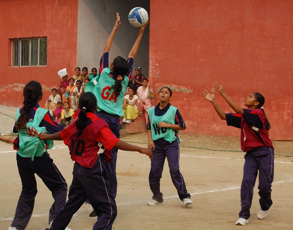 NAZ Foundation use Netball as a tool to engage young girls and make them self dependent, confident,