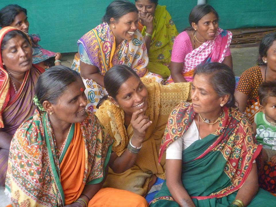 Sukhibhava focuses on urban poor women's menstrual needs.