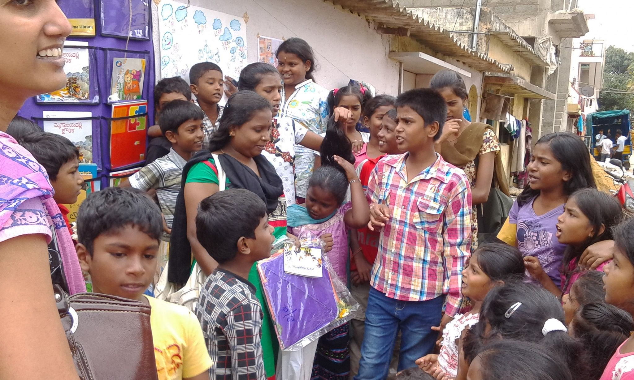 The initiative received a great response and engagement from Kids.