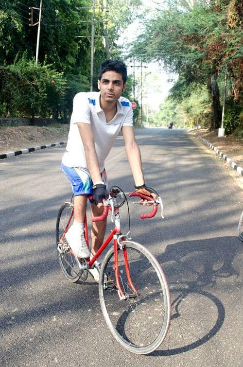 para cyclist