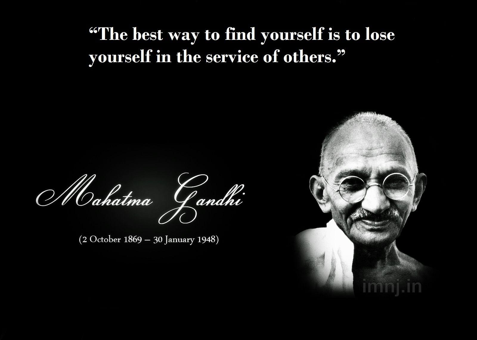 Gandhi Zitate Jesus Sprüche Und Zitate Leben