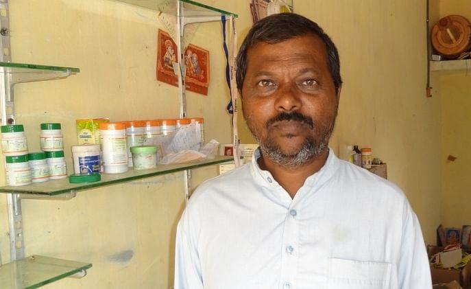 Ramji Ramaji Bhemaji  Parmar brought back some endangered herbs in medical science.