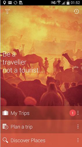 Tripigator mobile app