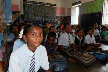 In Rajasthan, till now 14,555 schools have been involved in the implementation of Right to Education and 1,40,000 children have benefited from the advocacy efforts undertaken by officials from the Education Department as well as non-government organisations. (Credit: Pamela Philipose\WFS)