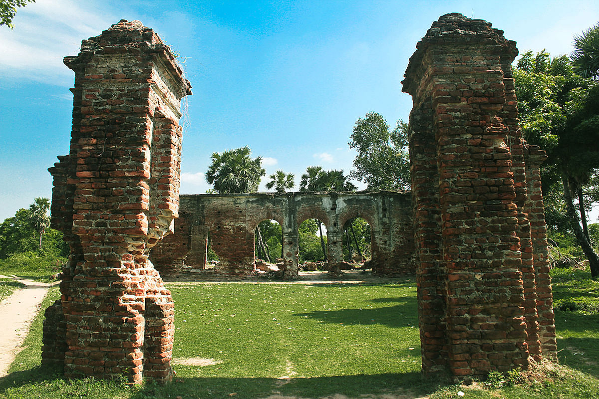 Arikamedu proves the presence of Roman and ancient Tamil trade relations. Photo Courtesy: Jayaseerlourdhuraj / Wikipedia