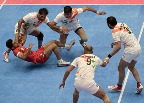 2014 Indian men Kabaddi team at Asian Games