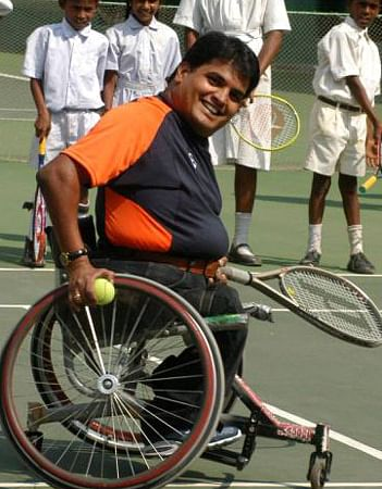 H. Boniface Prabhu - Tennis Player