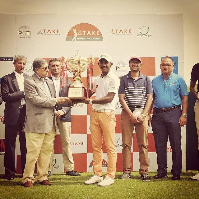 Chikkarangappa won TAKE Solutions India Masters on November 1