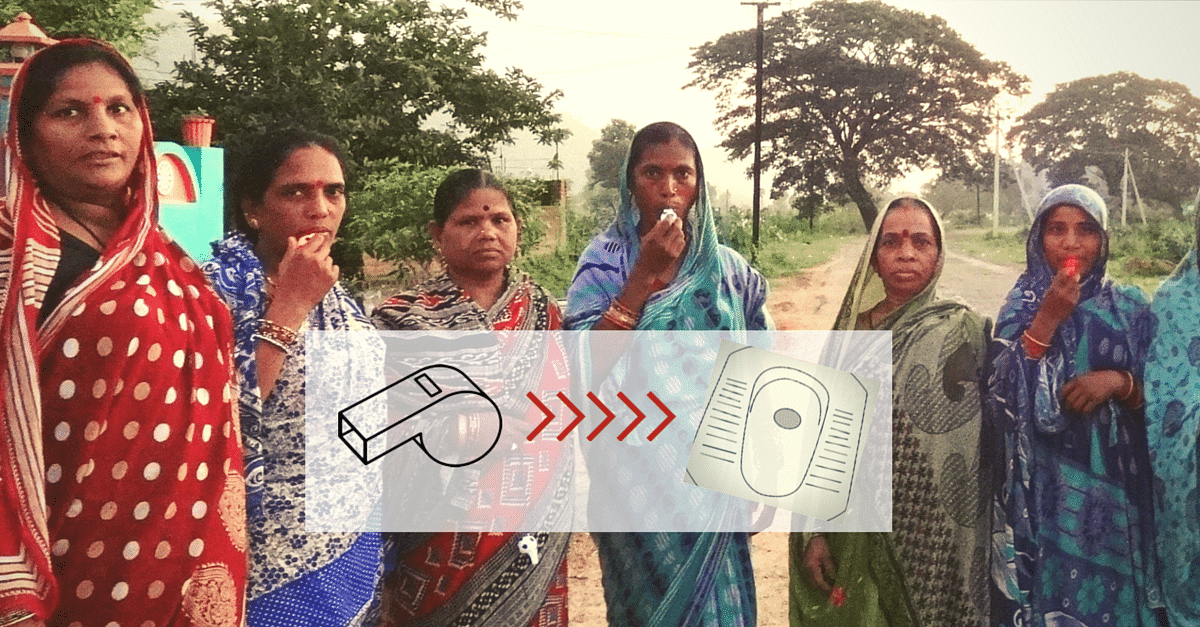Whistling Can Be Used To Improve Sanitation? Yes! These Village Women Show You How.