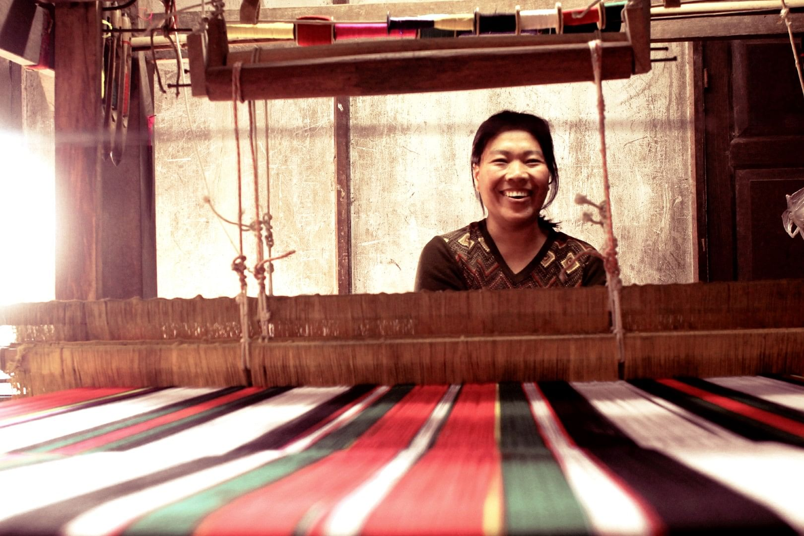 The colourful art if weaving can help women in Mizoram transform their lives.