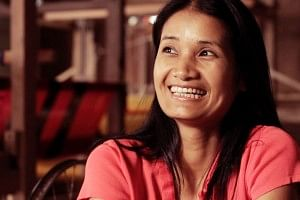 Lalfakzuali, after her divorce started a weaving business which is flourishing now.