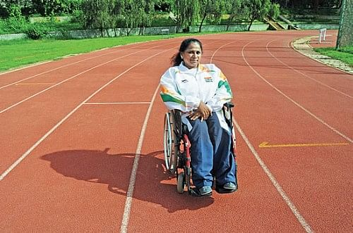 Malathi Krishnamurthy Holla - international para-athlete