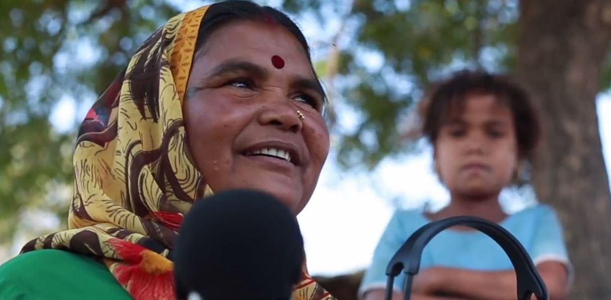 She Is Not Just Another Lady In Rural Madhya Pradesh, But A Radio Jockey Too!