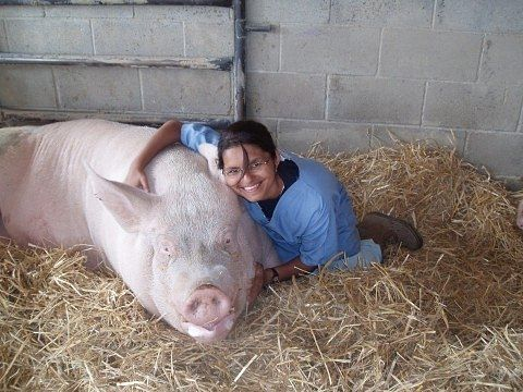 Roshni's love for animals made her opt for this uncommon profession.