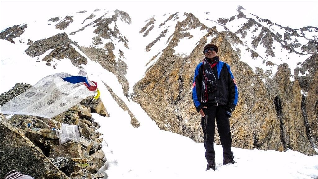 Every year Shankar Ji would travel from down south to the Himalayas fr trekking.