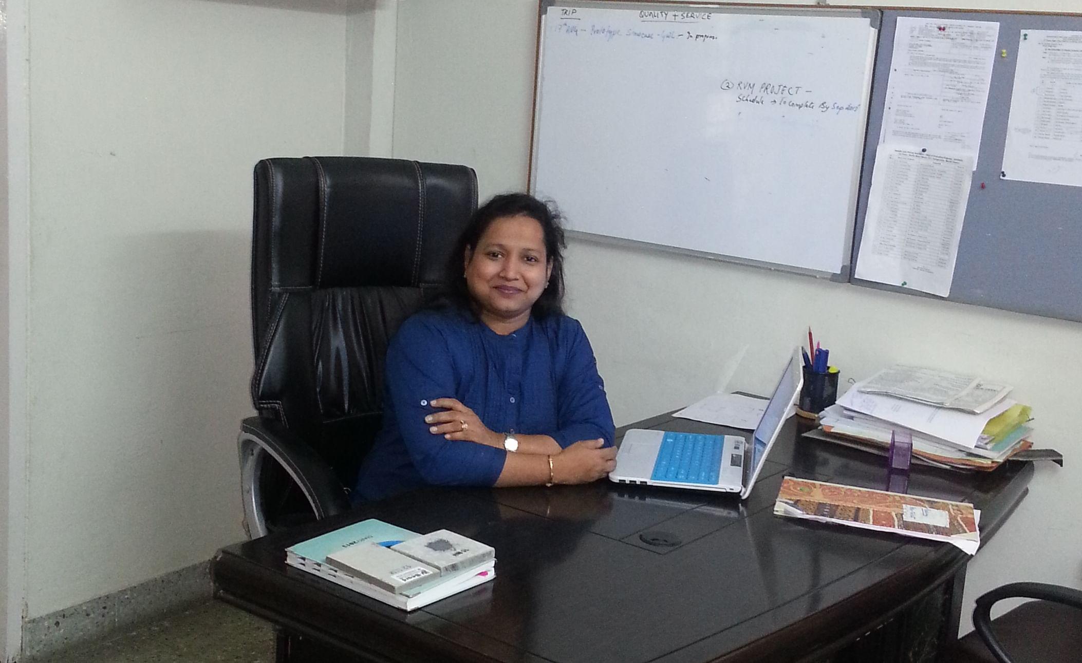 Namita Banka, founder of Banka Bioloo