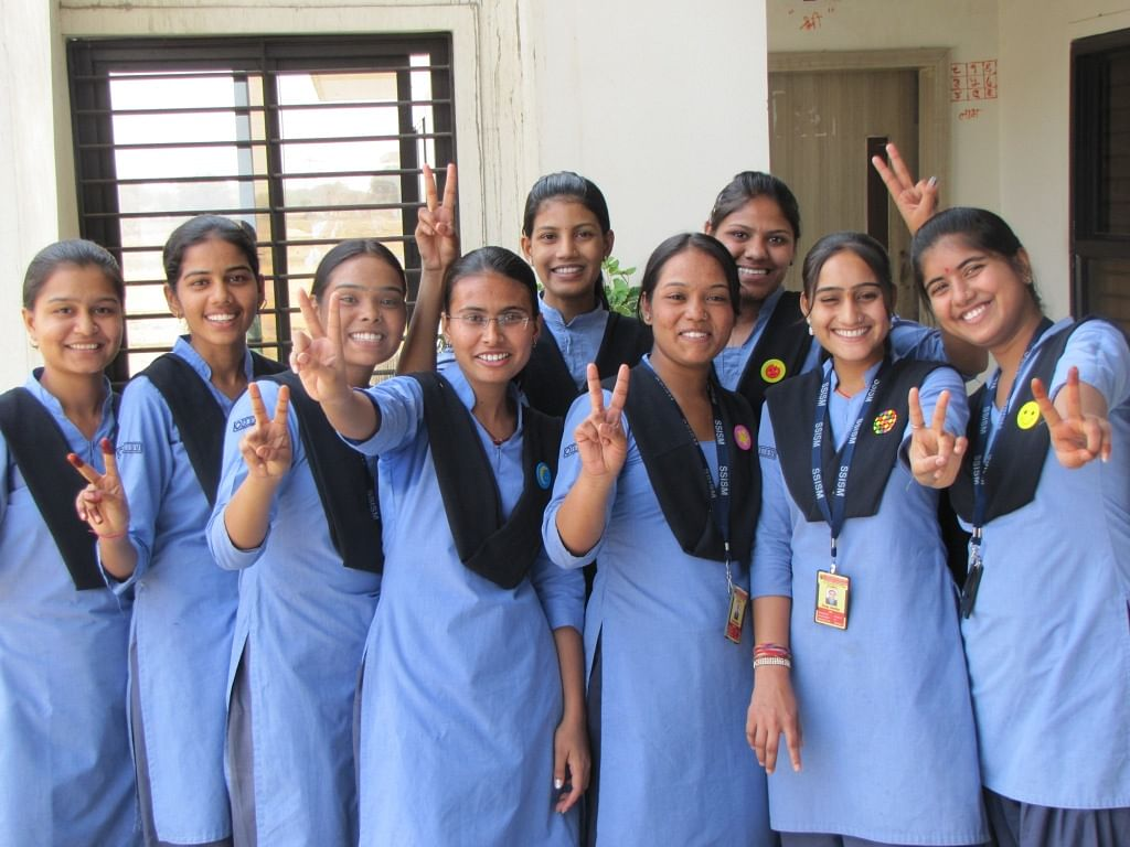 Both girls and boys are given equal opportunities to opt for courses of their choice.