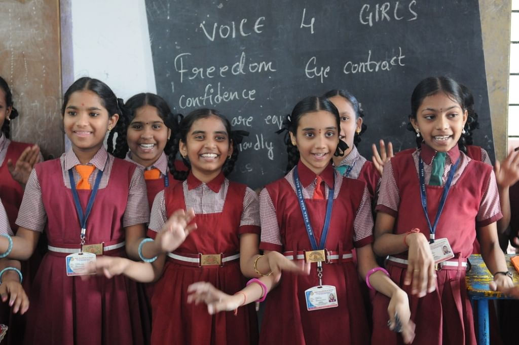 The girls can go back to their schools after the camp and can teach other girls too.