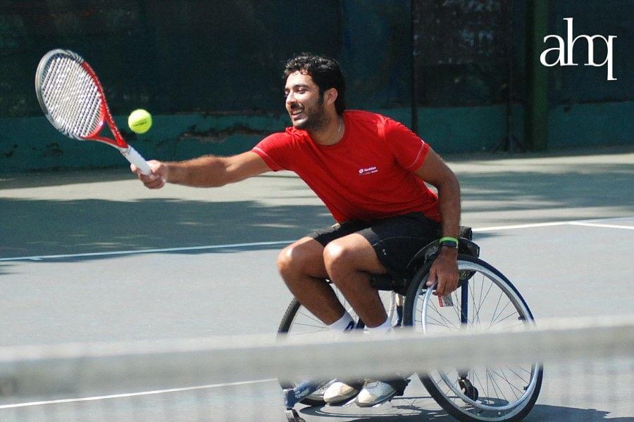 Aisam, wheelchair tennis