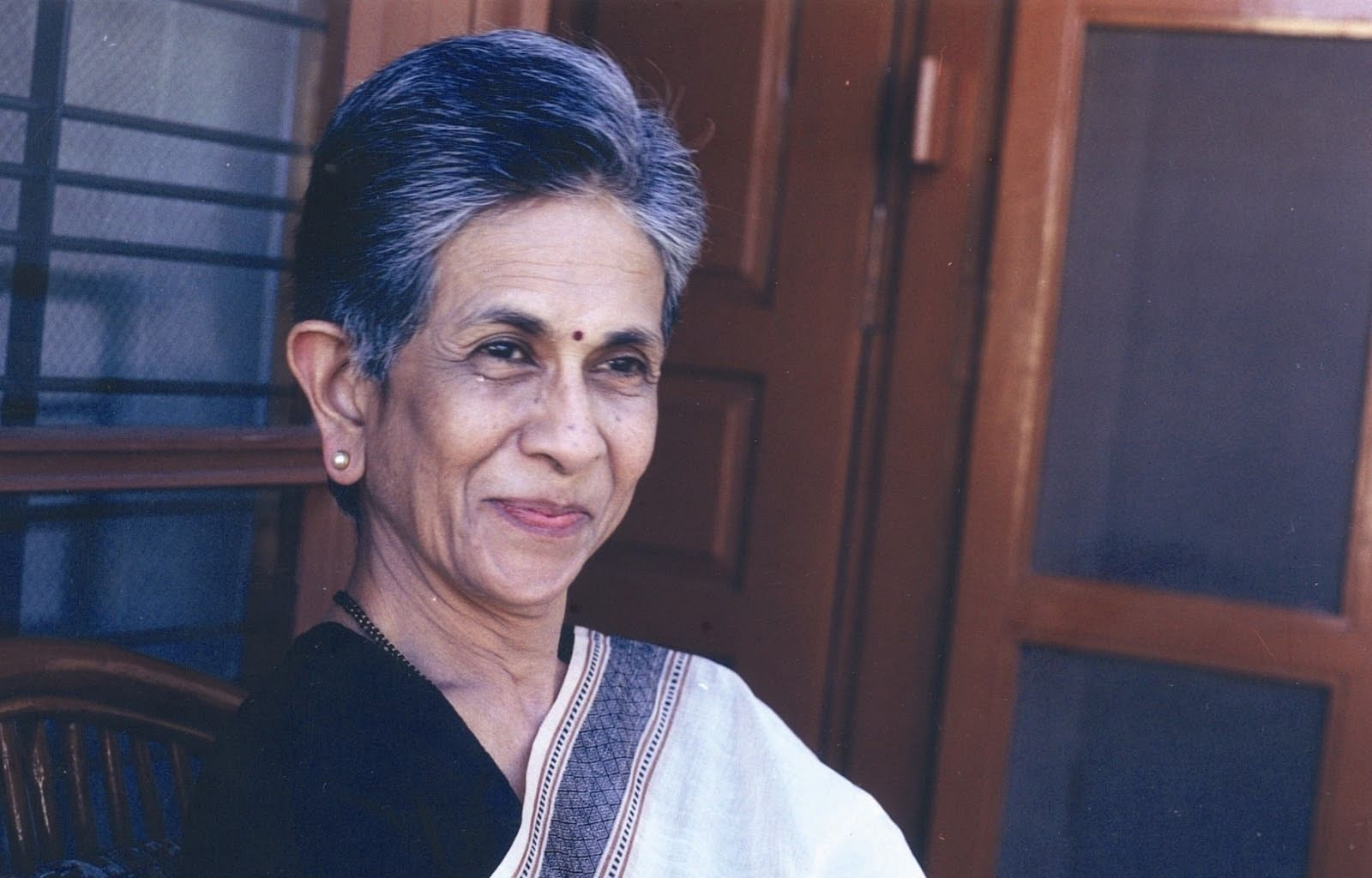 Padma Shri awardee Shashi Deshpande is proud of putting across a woman's perspective in her writings.