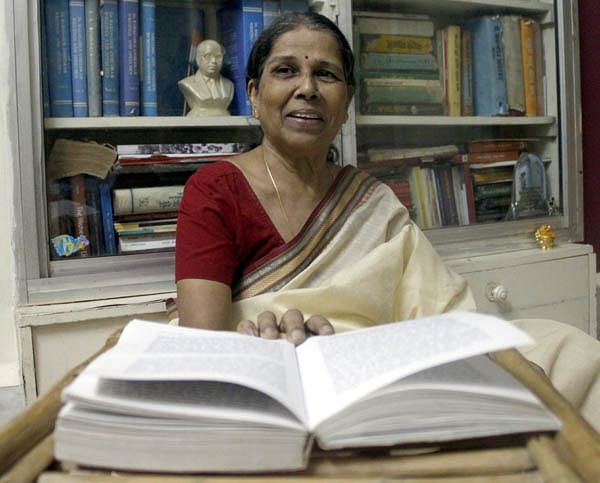 Urmila Pawar writes in Marathi on her experiences as a dalit woman.