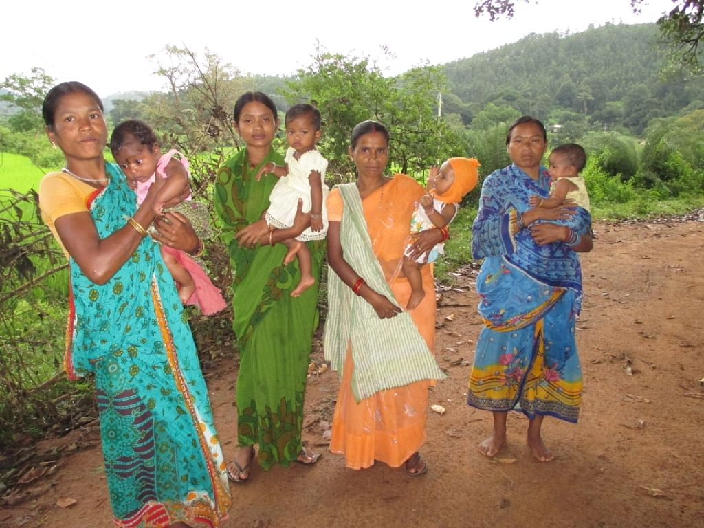 Thanks to the creation of the village health atlas in all the 34 project villages in Kandhamal, motherhood has truly become the wonderful experience it ought to be. (Credit: Sarada Lahangir\WFS)