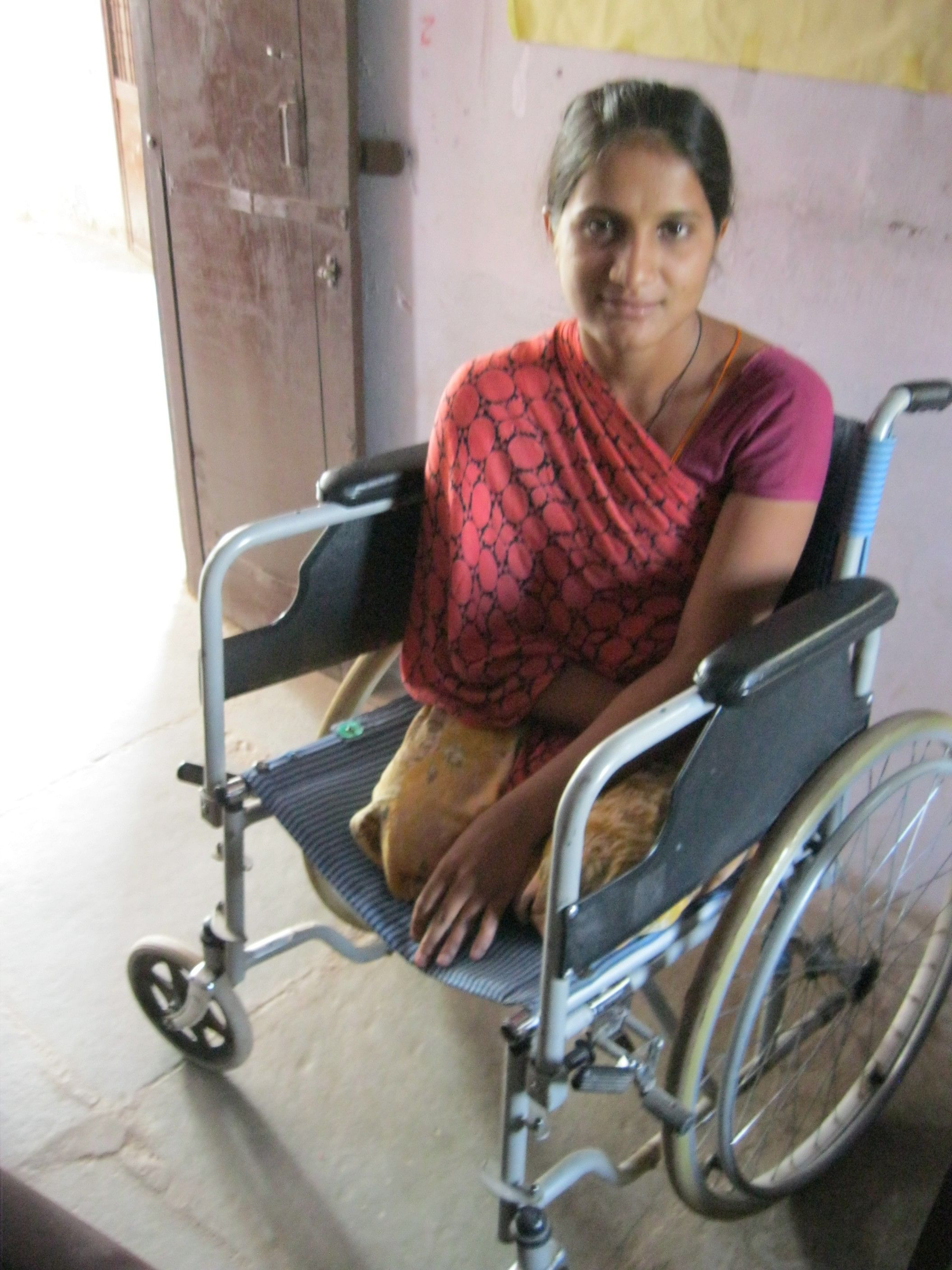 Sita, 20, overcame her disability and a dreadful past to turn to education and give a new lease to her life. (Credit: Annapurna Jha\WFS)