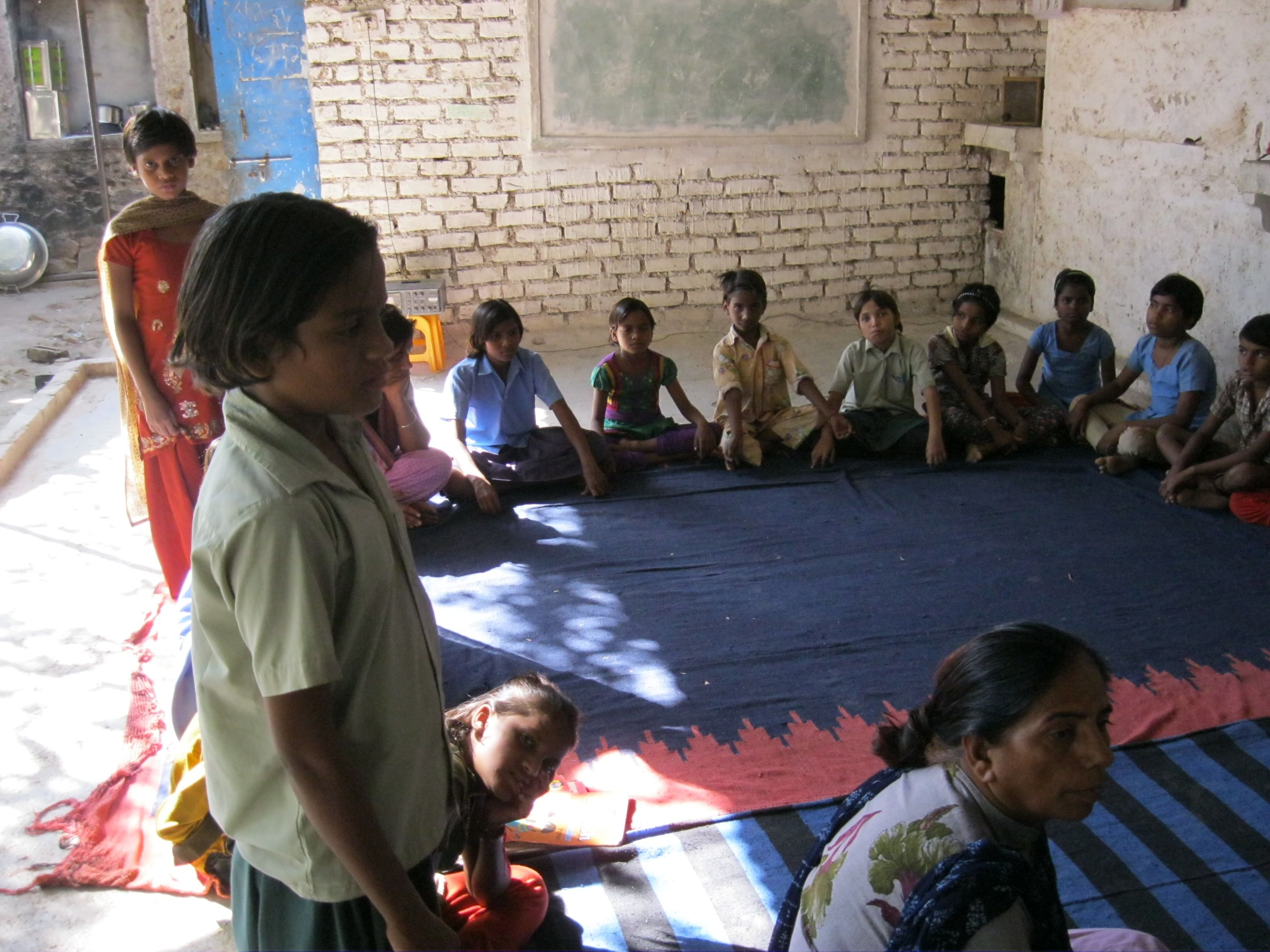 All the young tribal girls enrolled at the Adharshila Awasiya Vidyalaya in Chittorgarh have awe inspiring stories of struggles and triumphs to share. (Credit: Annapurna Jha\WFS)