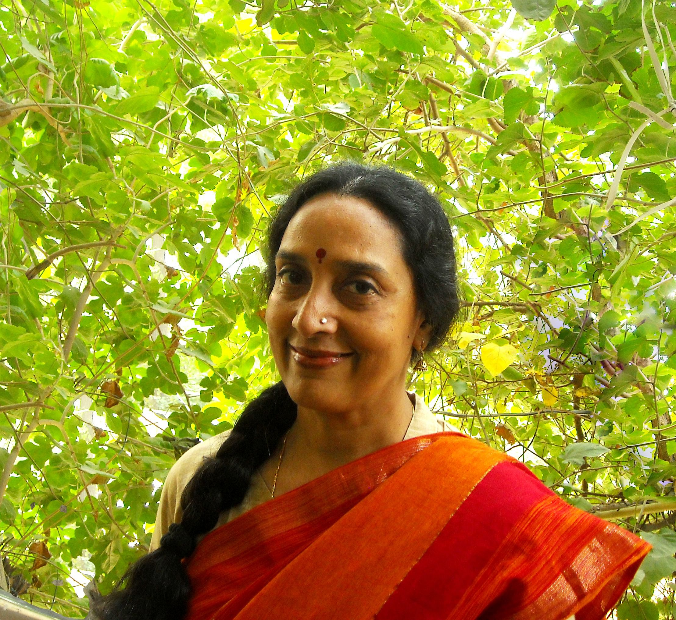 Malati Mathur is a PhD scholar is known for her brilliant English translations of works in Tamil and Hindi – notably the Thi Jaa's 'Remembering Amma'. (Credit: Venkat Parsa\WFS)
