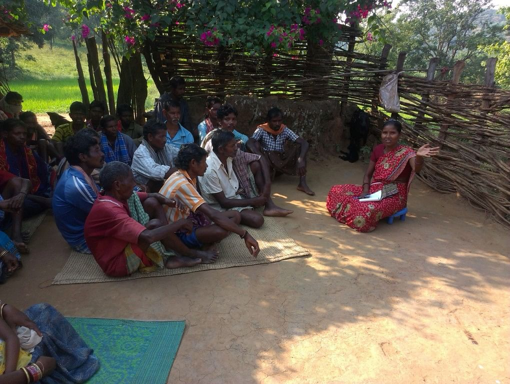 Today, thousands of tribal forest-dwellers in Sundergarh believe that the implementation of the Forest Rights Act 2006 has become a great success due to the selfless and dedicated work by Anna. (Credit: Sarada Lahangir/WFS)