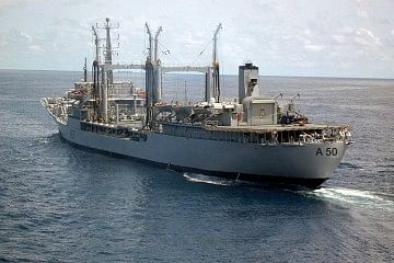 INS Deepak carried around 1,000 tonnes of water to Maldives and has the capacity to produce fresh water everyday.