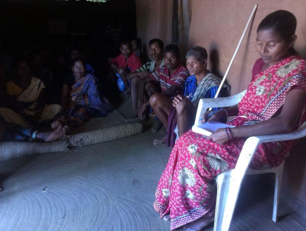 So far, Anna has helped about 2,000 tribal people obtain their rightful 'patta' in Sundergarh, Odisha. (Credit: Sarada Lahangir/WFS)