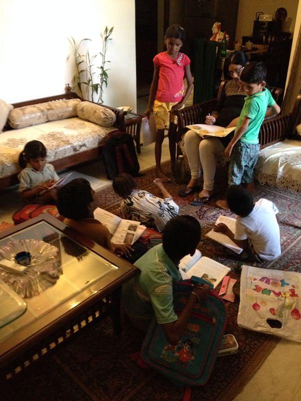 Ritu Abbhi's school.