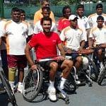 Sports as hope through wheelchair-Tennis