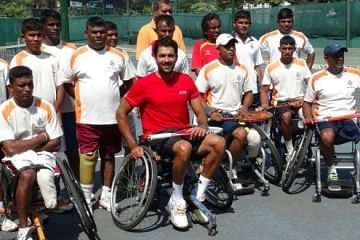 Sports as hope through wheelchair-Tennis
