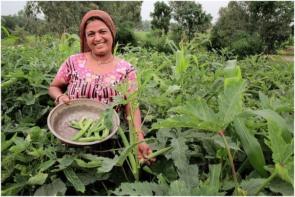 Sasili, from the proud Bhil tribe, grows and sells vegetable