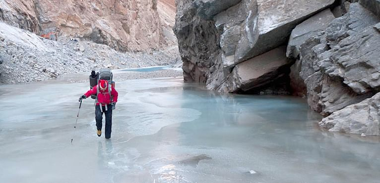 Image result for Chadar Trek Expedition – One of the Best Treks in India