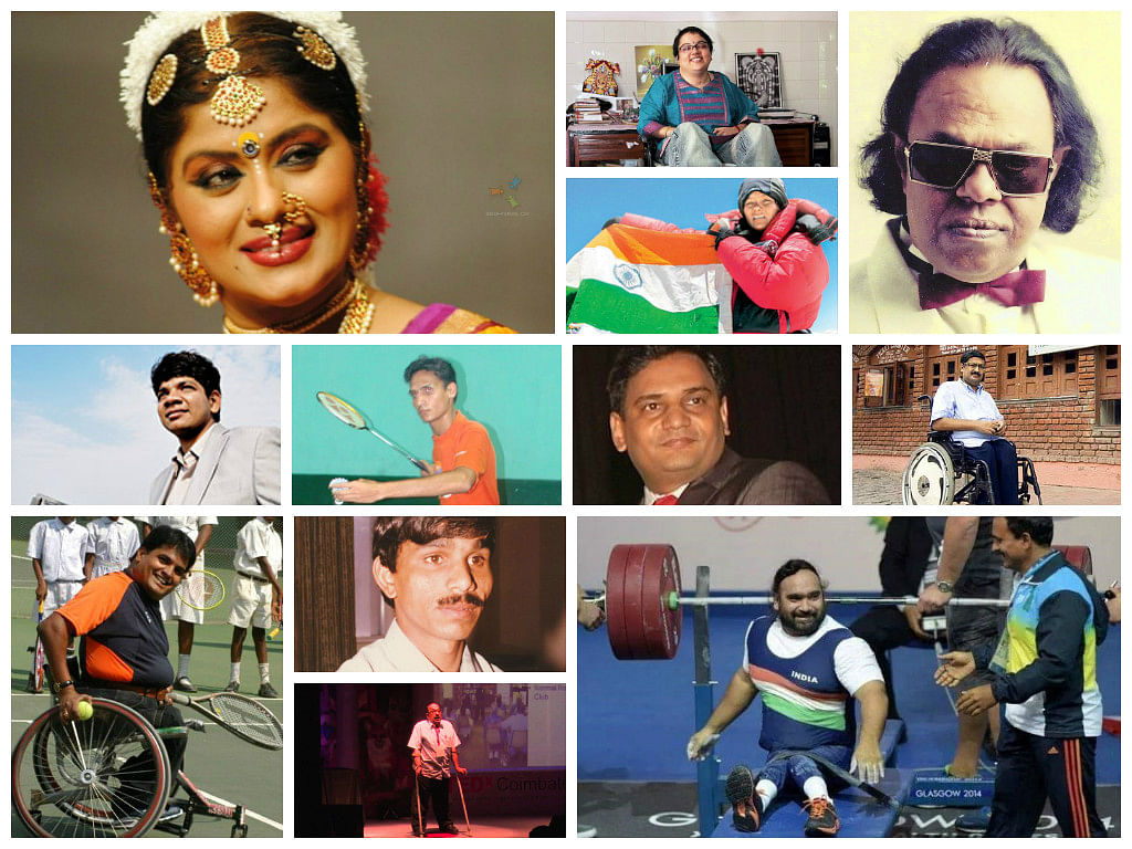 disability collage