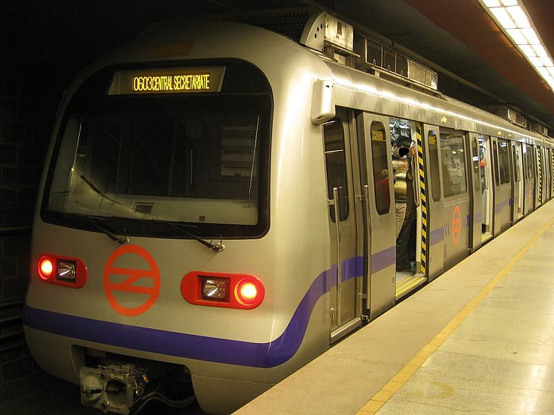 Delhi Metro. Picture Source: WillaMissionary/Wikimedia