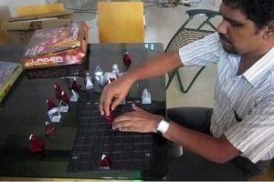 Salih has won many national level chess championship.