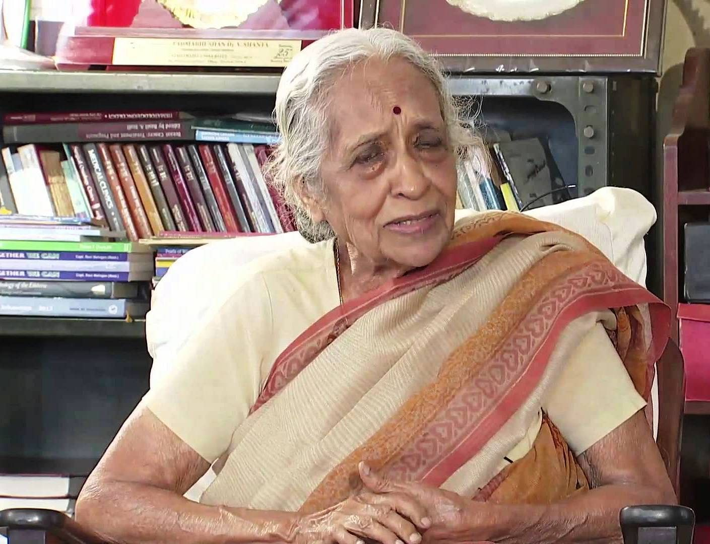 At 87, Dr V Shanta runs one of the busiest cancer hospitals in India with the same passion and enthusiasm as she did when she had started out nearly 60 years ago.