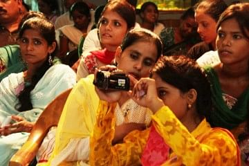 Muslim women in Lucknow are introduced to information technology, filmmaking and photography as part of an innovative feminist leadership programme