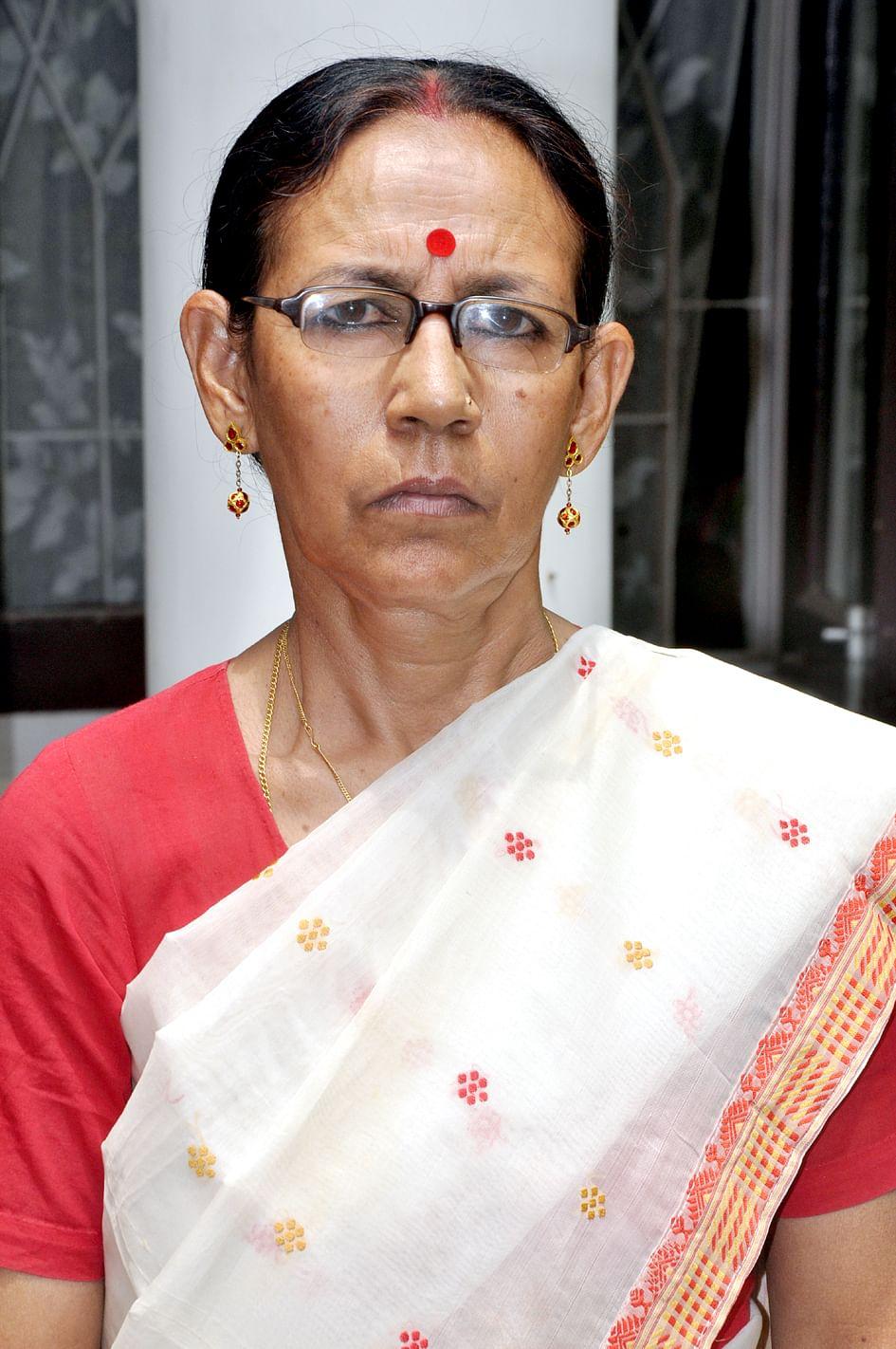 Parvati Barua . Photo Samarendra Sarma