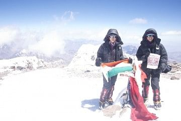 Nungshi and Tashi Malik have successfully scaled the seven top peaks across seven continents.