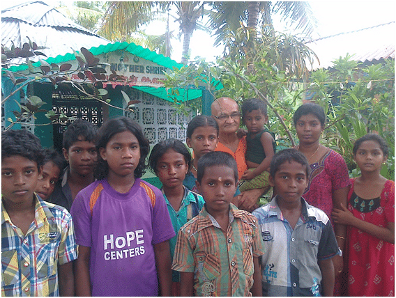 From rescuing children to imparting wisdom, swamiji has always stood by the people.