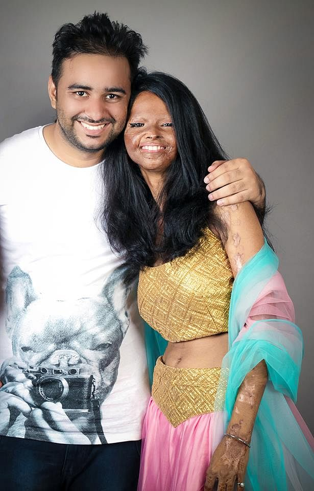 Rahul with Laxmi