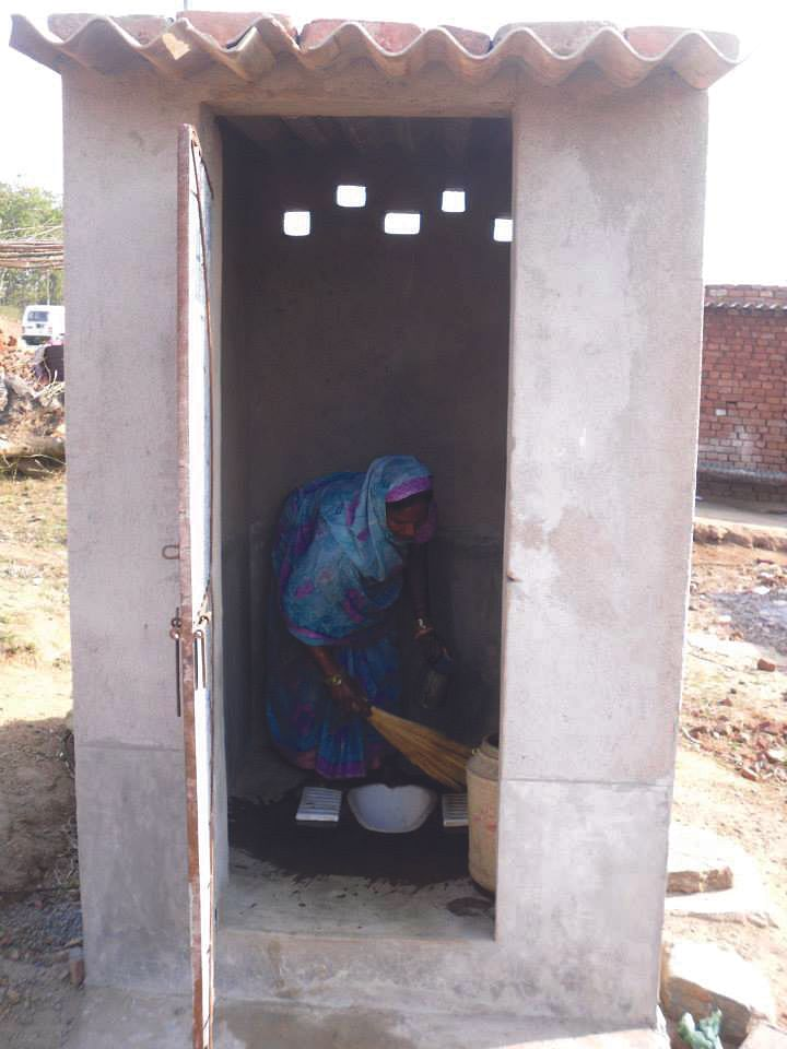 A toilet in every home in the rural areas can be a great boon for women who are otherwise forced to step out at dawn or dusk to relieve themselves in the open making them vulnerable to harassment and diseases.